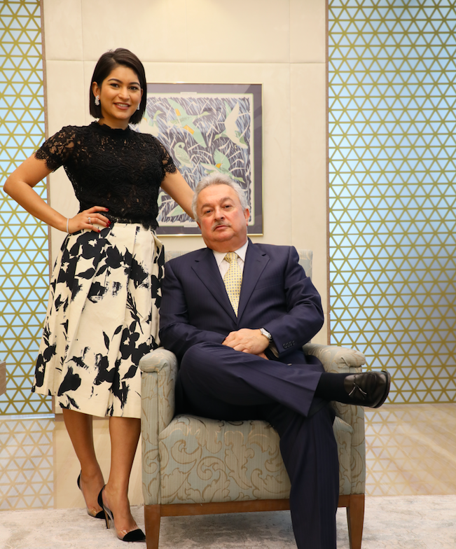 The Modern Family (Business): Roxanne Mukhi joins father Danny Mukhi at the helm of Istana Jewellers